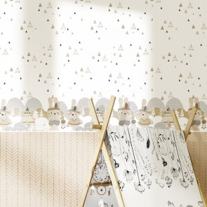 Vinyl Wallpaper Babylandia by Parato