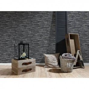 AS Creation Best Of Wood'n Stone Non Woven, Vinyl Wallpaper