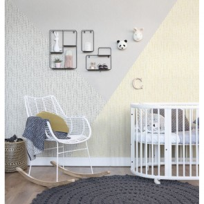 Stripes Wallpaper, Rasch Bambino 18 - Studio360 BB249156