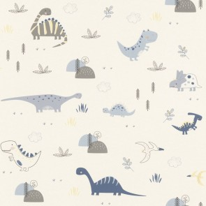 Dinosaur Wallpaper, Rasch Bambino 18 - Studio360 BB249347
