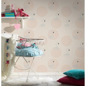 Flamingo Wallpaper, AS Creation Boys & Girls 6 - Studio360 BG369982