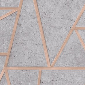Geometric Shapes Wallpaper, Grandeco Exposure - Studio360 EP3703