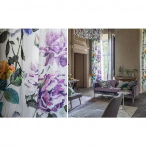 Designers Guild Couture Rose Curtain and Furnishing Fabric