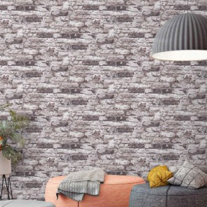 Stone Wallpaper, Grandeco Infinity - Studio360 IF3202