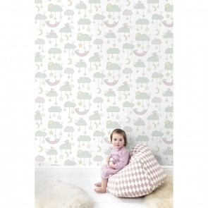 Kids Theme Wallpaper, Grandeco Jack 'n Rose - Studio360 LL3010