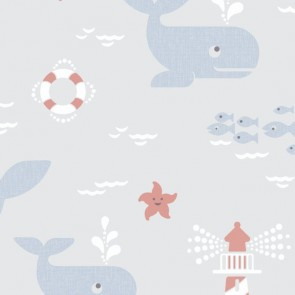 Kids Theme Wallpaper, Grandeco Jack 'n Rose - Studio360 LL3204