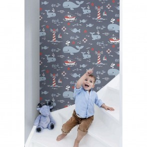 Kids Theme Wallpaper, Grandeco Jack 'n Rose - Studio360 LL3206