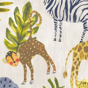 Kids Animals Wallpaper, Grandeco Little Ones - Studio360 LO2201