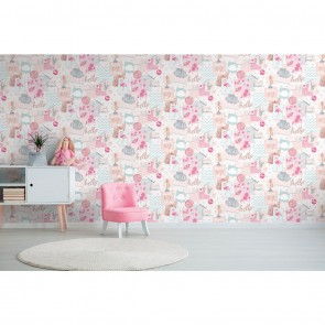 Kids Theme Wallpaper, Grandeco Little Ones - Studio360 LO2401