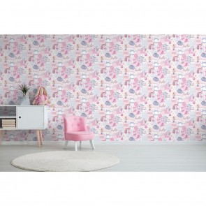 Kids Theme Wallpaper, Grandeco Little Ones - Studio360 LO2402