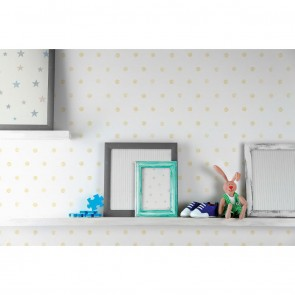 Dotted Wallpaper, Grandeco Little Ones - Studio360 LO2602