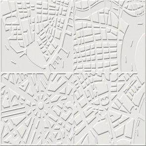 Elitis Chance Maps Non Woven Wallpaper