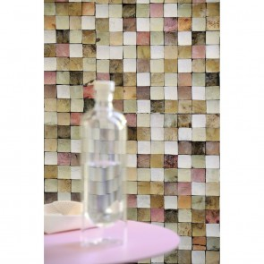 Elitis Coco Shells Non Woven,Natural Materials Wallpaper