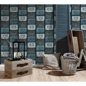 Lutece Authentic Walls 2 Non Woven,Vinyl Ταπετσαρία Τοίχου