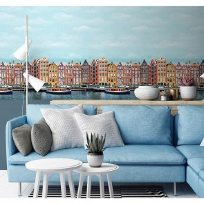 All Around Deco Reflections Non Woven,Vinyl Μπορντούρα